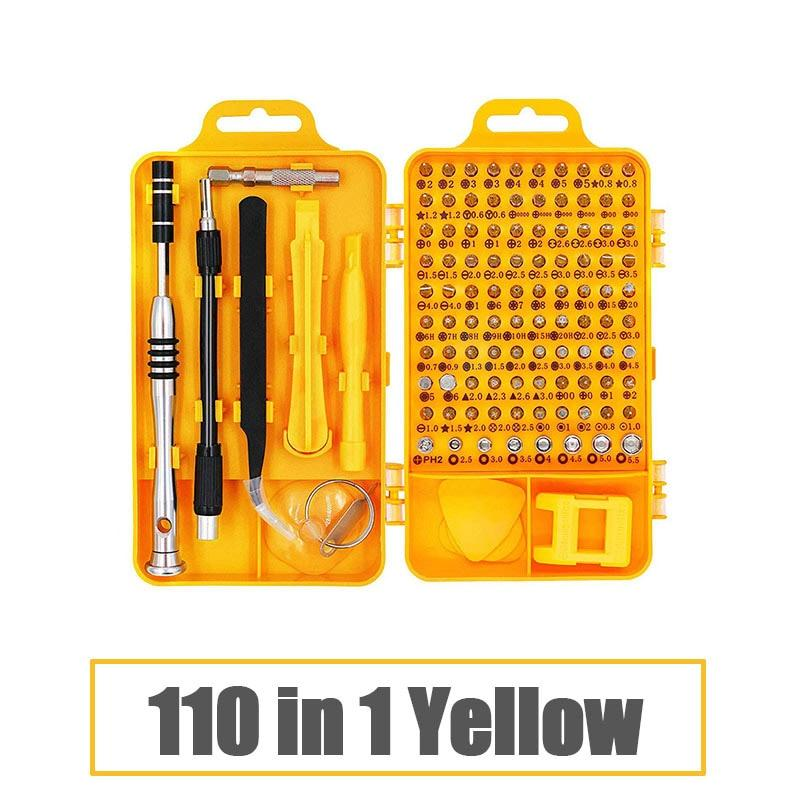 115 In 1 Precision Magnetic Screwdriver Set