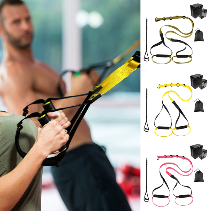 Total Resistance Bands - Ultimate at Home Trainer