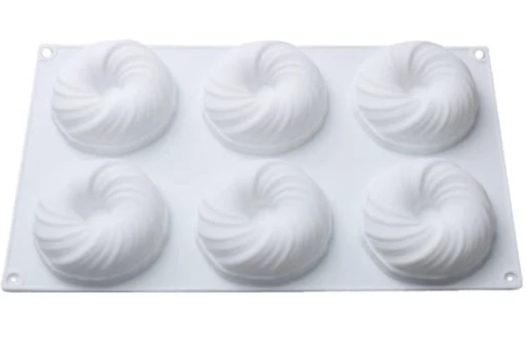 Artistic Silicone Cake Baking Mold