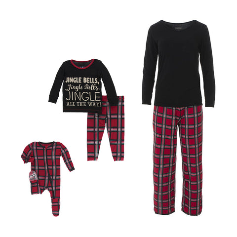 Ga Ga for kids, Kickee Pants, Matching PJs, Christmas