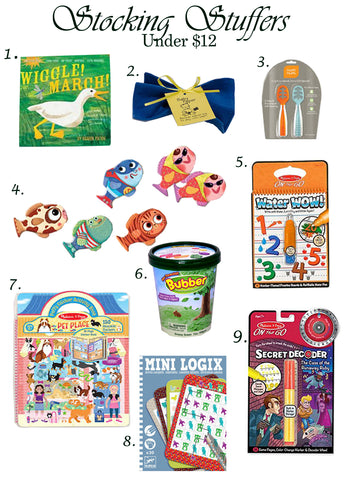 Stocking Stuffers Ga Ga for kids