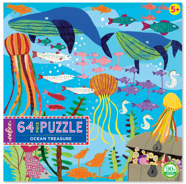 OCEAN TREASURE 64PC PUZZLE