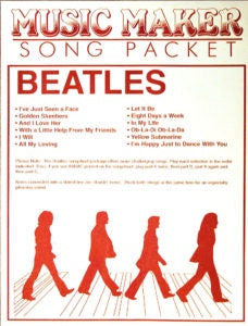 MUSIC MAKERS BEATLES COLLECTION MUSIC SHEETS