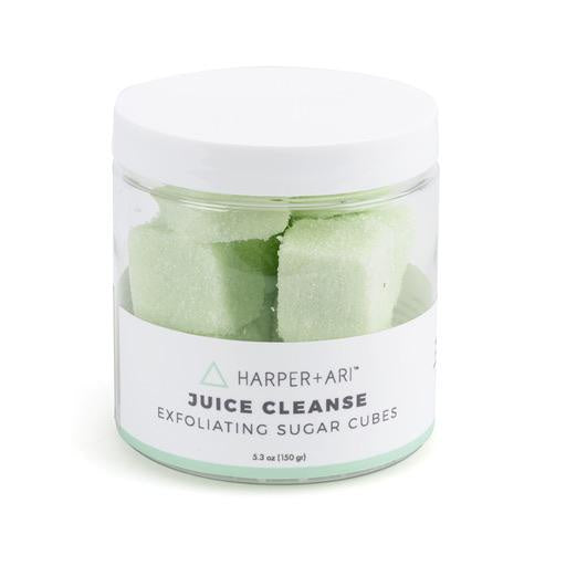 JUICE CLEANSE EXFOLIATING SUGAR CUBES 5.3 OZ JAR