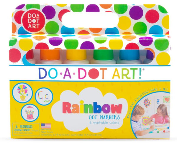 DO A DOT 6 PACK RAINBOW MARKERS