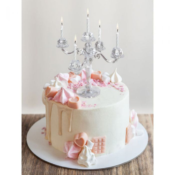 CAKE CANDELABRA CANDLE HOLDER