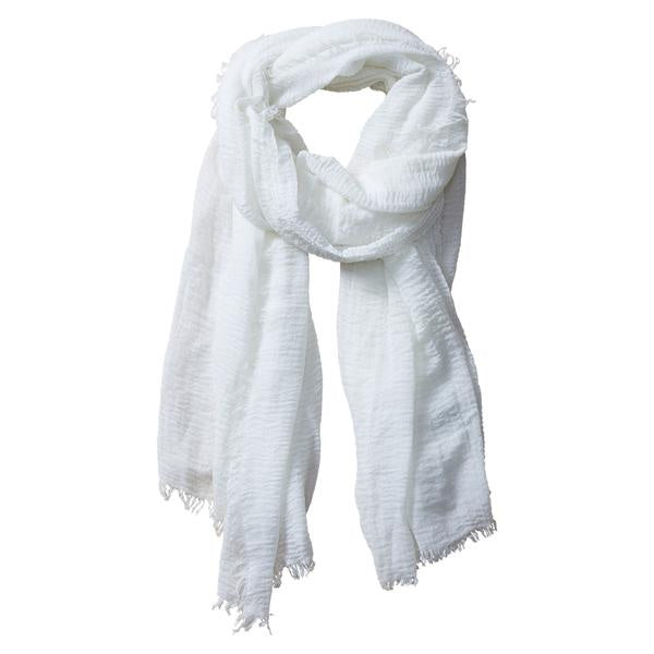 INSECT SHIELD SCARF IVORY