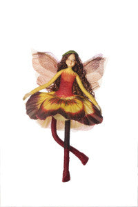 FAIRY PANSY YELLOW/SIENNA