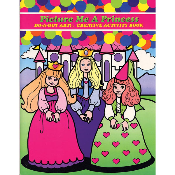 DO A DOT PRINCESS BOOK