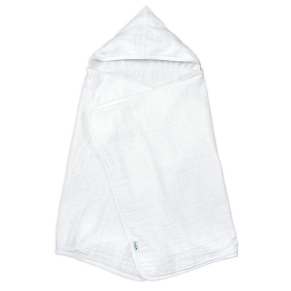 MUSLIN HOODED ORGANIC COTTON
