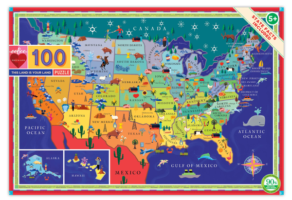 THIS LAND IS YOUR LAND 100PC PUZZLE