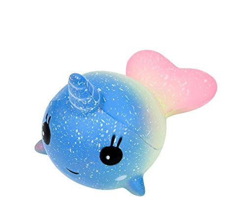 SQUISHY RAINBOW NARWHAL