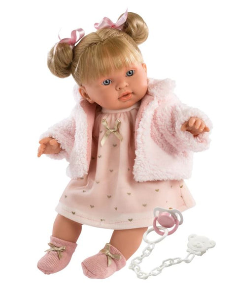 "ABBY 16.5"" SOFT BODY CRYING BABY DOLL"