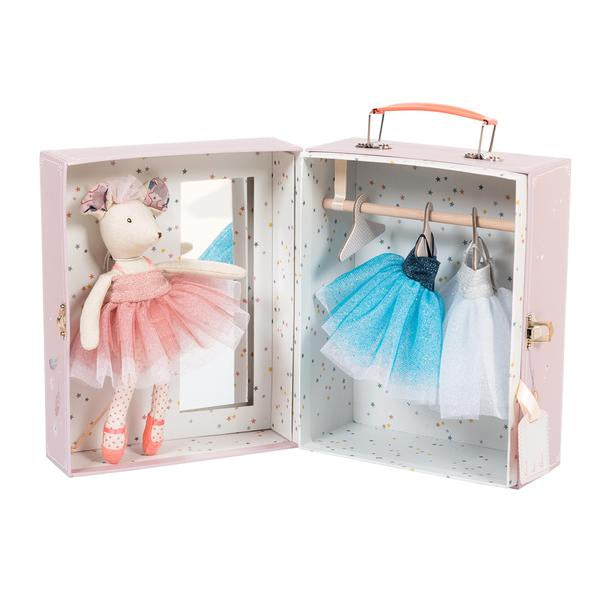 BALLERINA MOUSE VALISE 8PC SET