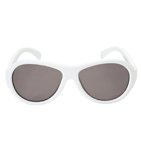 SUNGLASSES AVIATOR WHITE