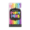 MAGIC NEON PUFFY PENS SET OF 6
