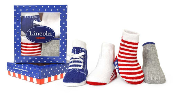 SOCKS LINCOLN 4PK
