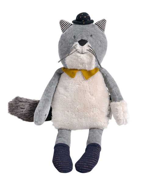 FERNAND LIGHT GREY CAT LES MOUSTACHES