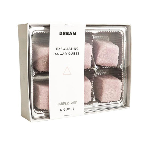 DREAM EXFOLIATING SUGAR CUBES GIFT BOX