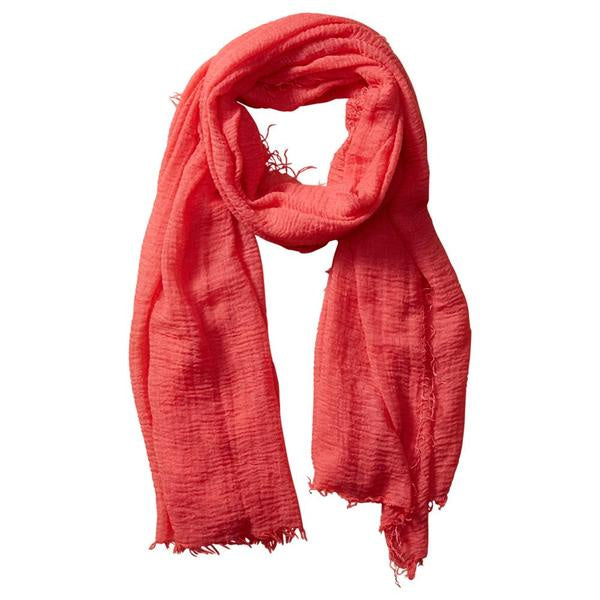 INSECT SHIELD SCARF CORAL