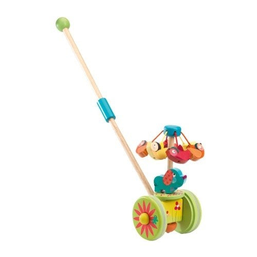 Djeco Push Along Toy - Rouli-Cuicui