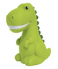ISCREAM DINOSAUR NIGHT LIGHT, GREEN, LED, 15 MINUTE TIMER, BATTERY OPERATED