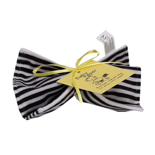 BABY PAPER BLACK & WHITE STRIPE