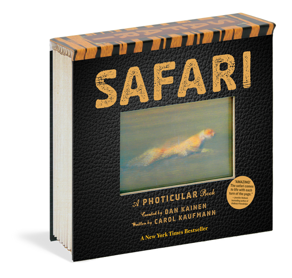 MOTION BOOK, PICTURES TO LIFE, MOVING PICTURES, SAFARI BOOK,