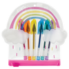 RAINBOW MINI COLOR GEL 6 PEN SET IN BAG