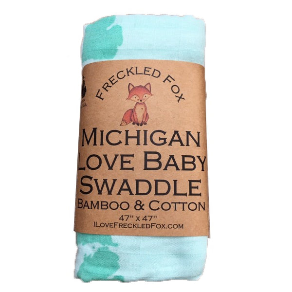 SWADDLE MICHIGAN LOVE BABY