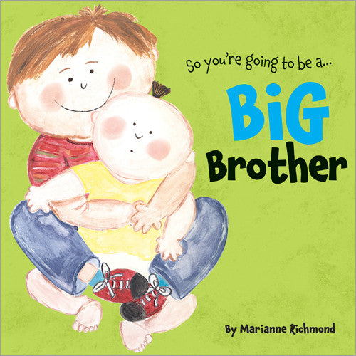 SOURCE BOOK, BIG BROTHER,HARD COVER BOOK, CHILDREN BOOK, GA GA FOR KIDS