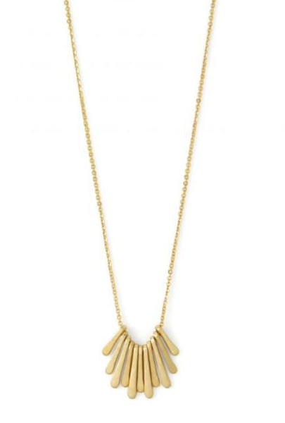 NECKLACE MULTI MINI BARS GOLD
