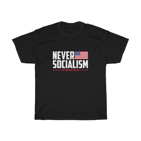 Men's Never Socialism T-Shirt