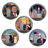 Silver Plated Special Edition 45th President Coins