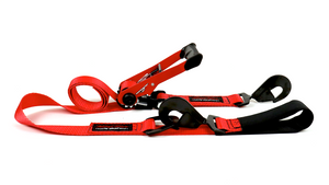"2"" Ratchet Tie-Down with Axle Strap"