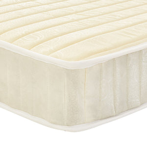 Spring Mattress Quilted Fabric Cover Bedroom Furniture 3ft Single / 4ft6 Double / 5ft King Size /Small double - Vintageretrostyle