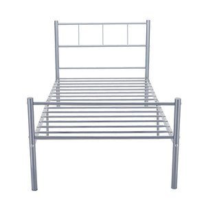 3FT Single Bed European Type contemporary contracted Bed Base for Adult or Children Bed Frame - Vintageretrostyle