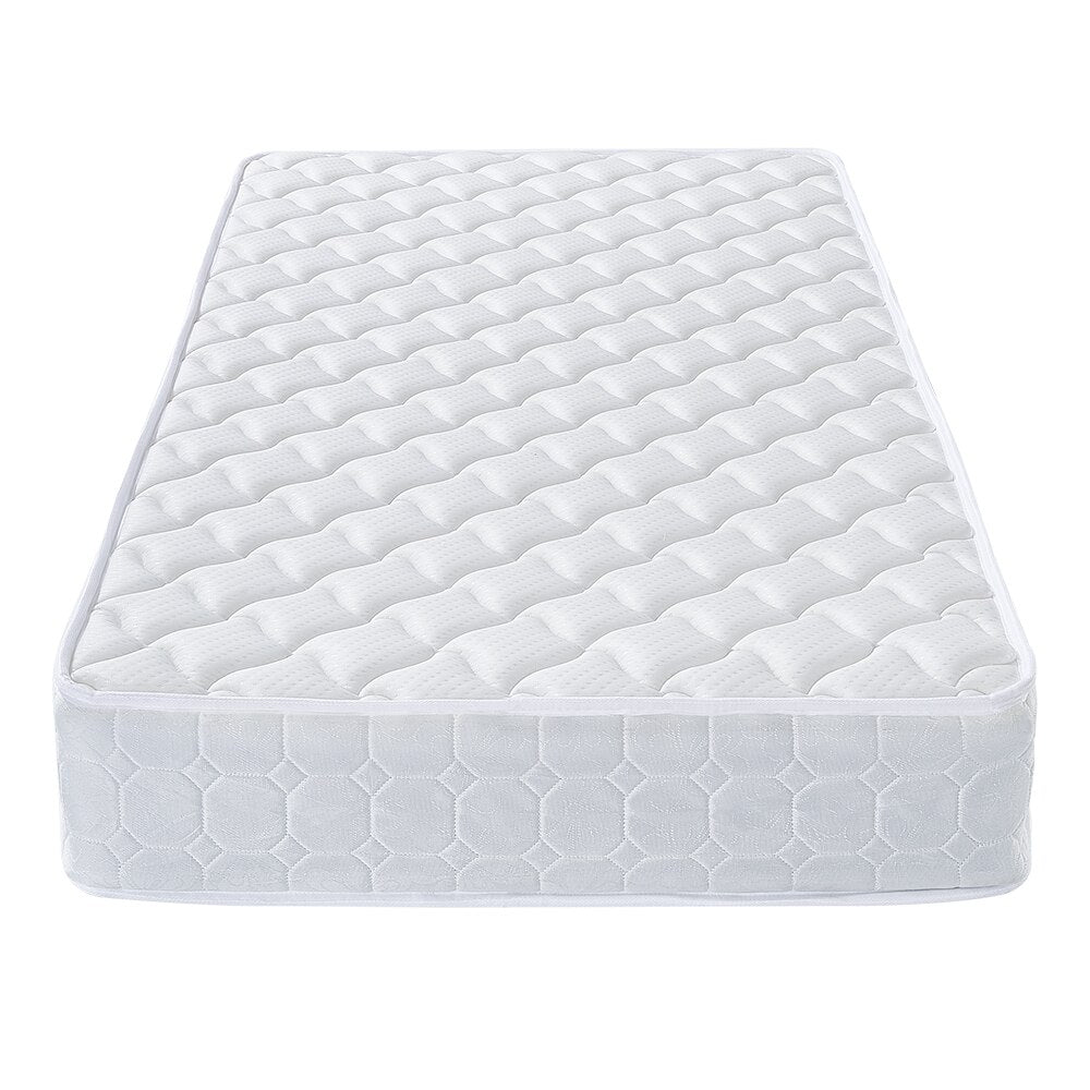 5FT Size Spring Mattress Bedroom Bedding Vacuum Packed 20cm Thickness - Vintageretrostyle