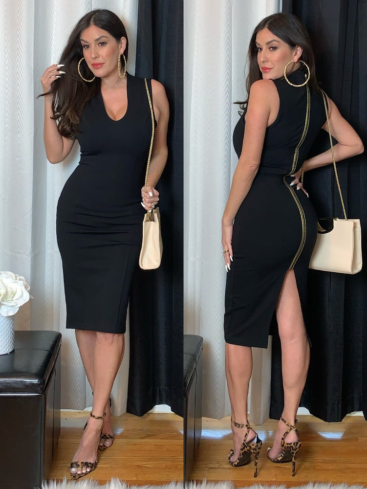 Pretty in Black Dress