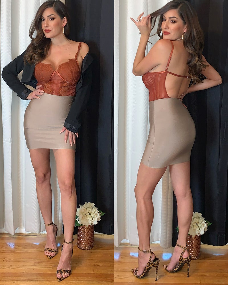 Julia Mini Bandage Skirt
