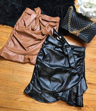 Load image into Gallery viewer, City Nights Faux Leather Skirt