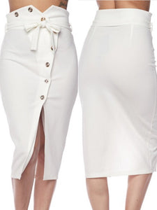 Lily Sky High Waisted Skirt