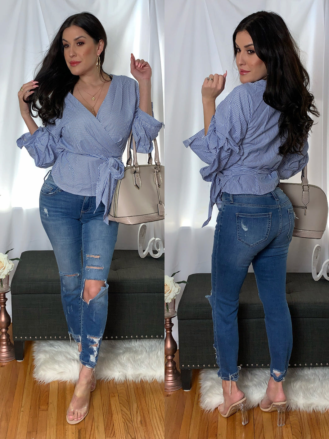 Lost in Lust Blouse