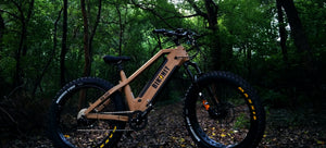 bikonit all terrain fat tire hunting fishing ebike