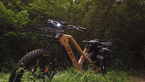 Bikonti HD750 All Terrain ebike hunting ebike fishing ebike