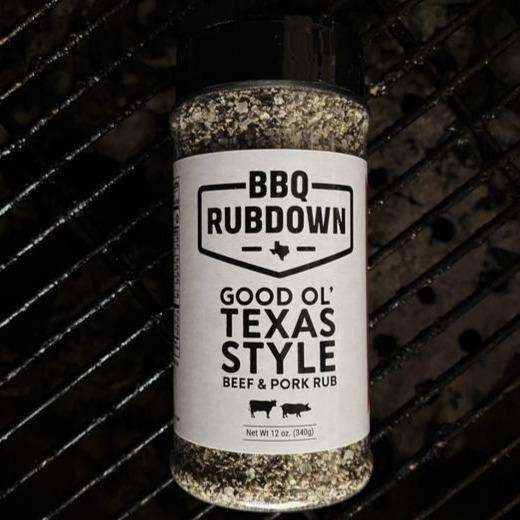 BBQ Rubdown Good Ol' Texas Style Beef & Pork Rub