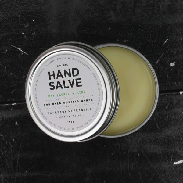 Hand Salve | Bay Laurel + Mint