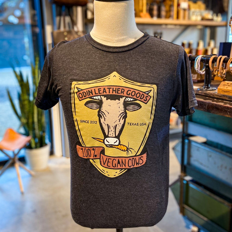 T-Shirt: 100% Vegan Cows