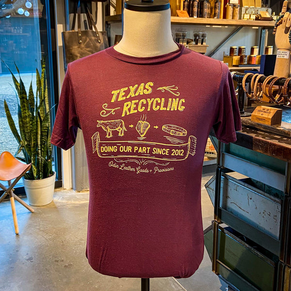 T-Shirt: Texas Recycling Since 2012 NEW