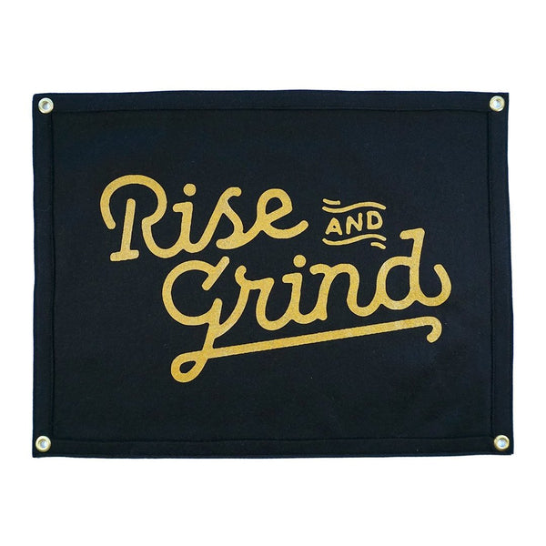 Camp Flag: Rise and Grind